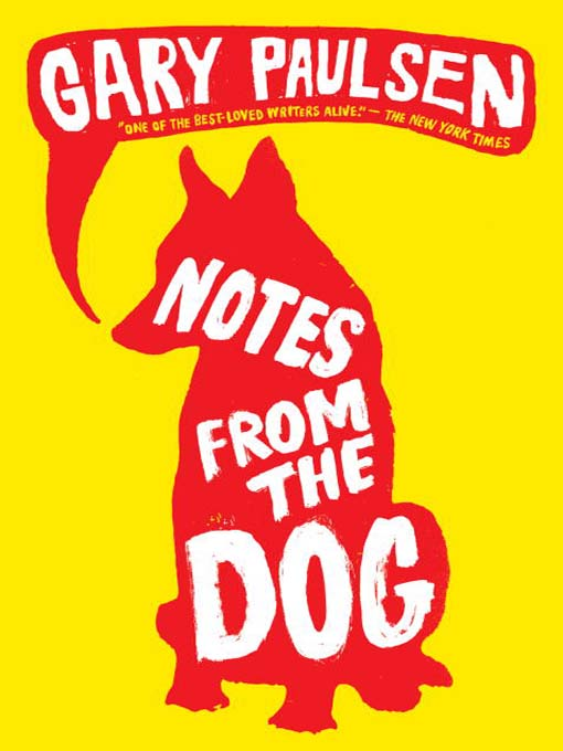 notes from the dog bookjacket
